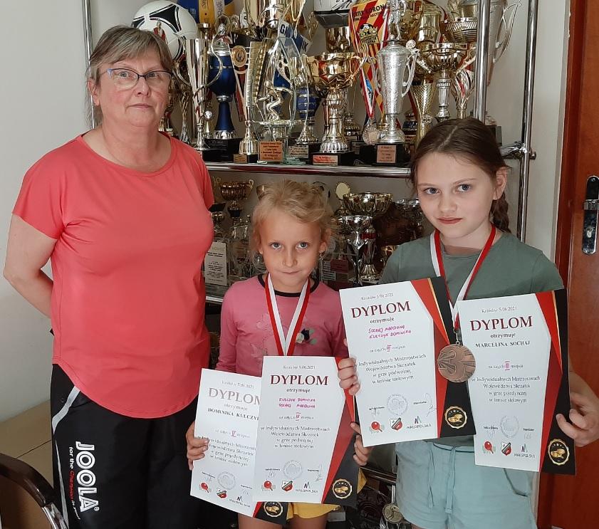 Sukces naszych najmłodszych tenisistek