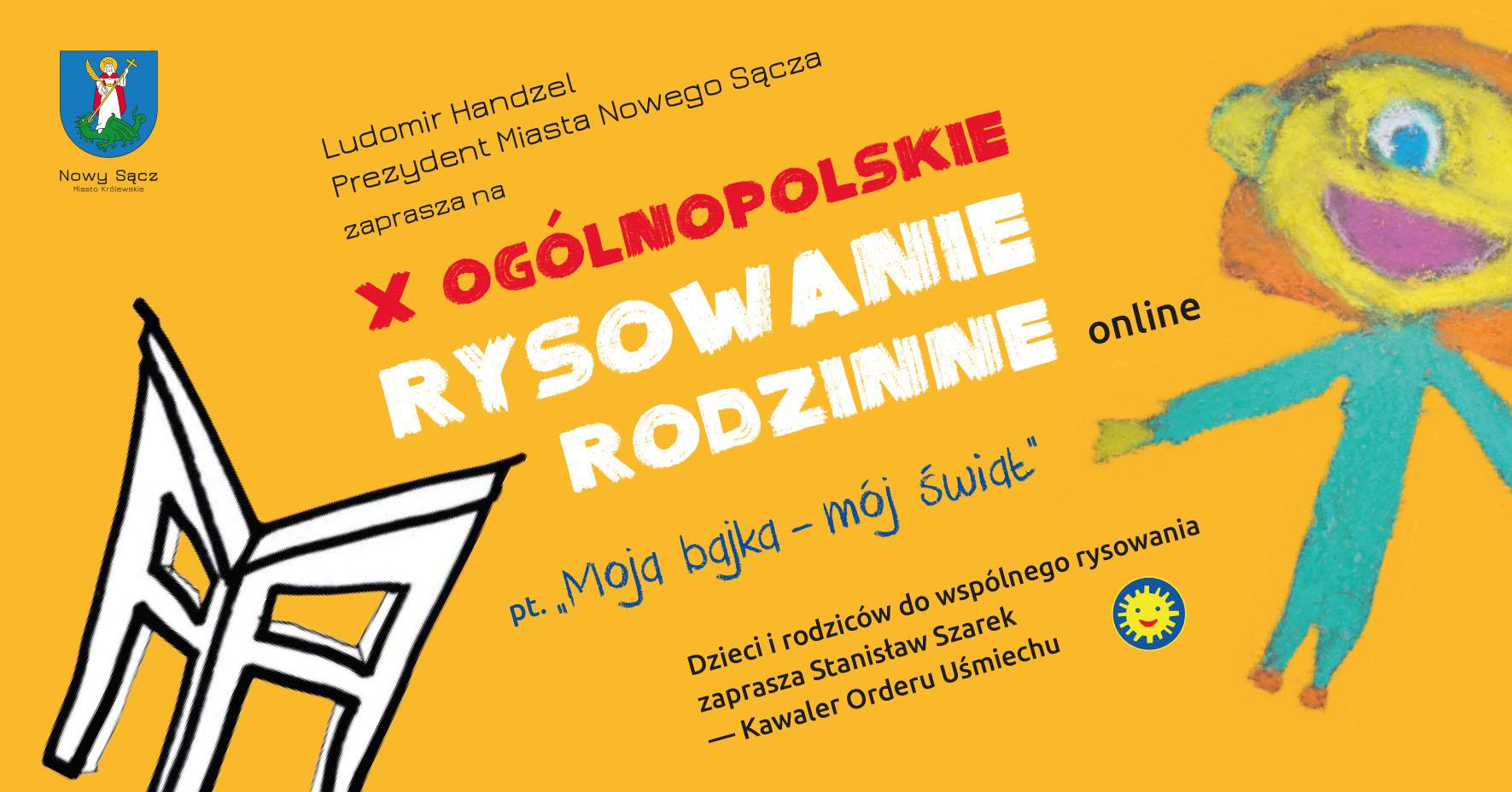 X Ogólnopolskie Rysowanie Rodzinne On-line